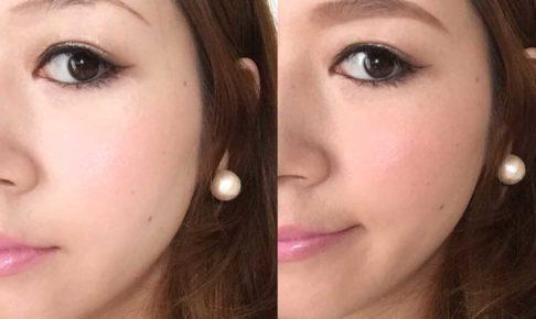 基本の眉の描き方ビフォーアフター