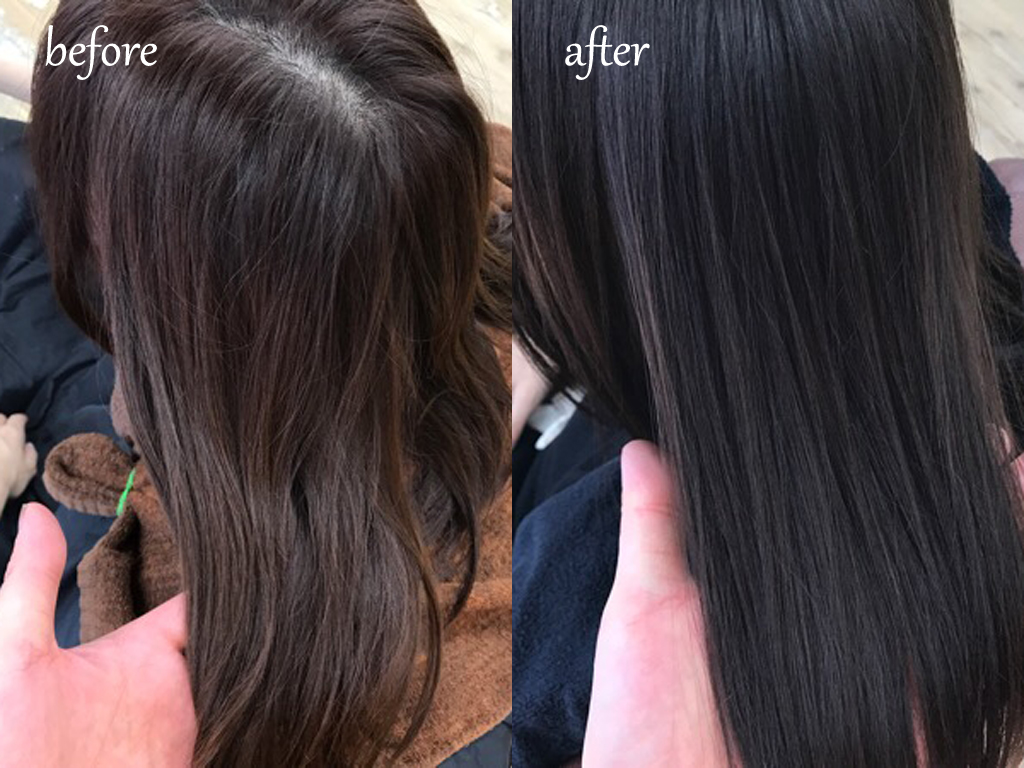 Hair color gloss toiro
