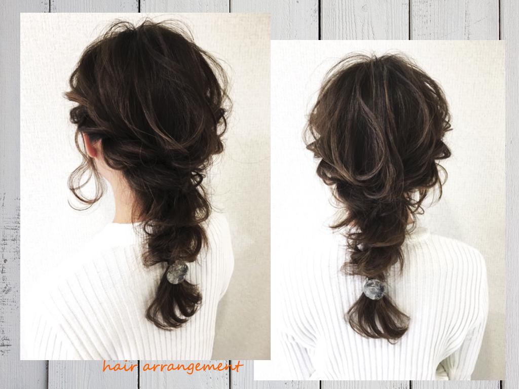 Layered,style,hair,arrangement