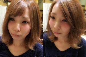 前髪アレンジTOP