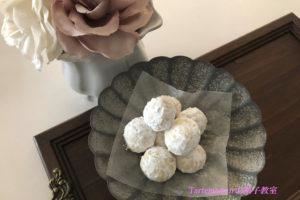 【ポリ袋レシピ】お菓子作りの強い味方ースノーボールクッキー