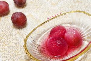 旬のフルーツを使った手作りお菓子♪